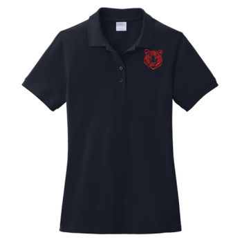 THOMPSON - Ladies Ring Spun Pique Polo Thumbnail