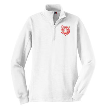 THOMPSON  - Ladies 1/4-Zip Sweatshirt Thumbnail