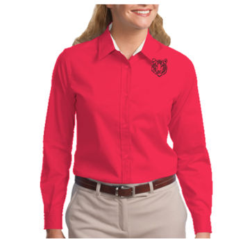 THOMPSON - Ladies Long Sleeve Easy Care Shirt Thumbnail