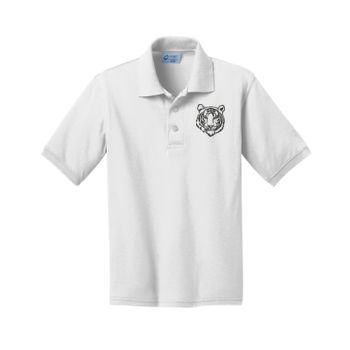 THOMPSON - Youth Jersey Knit Polo  Thumbnail