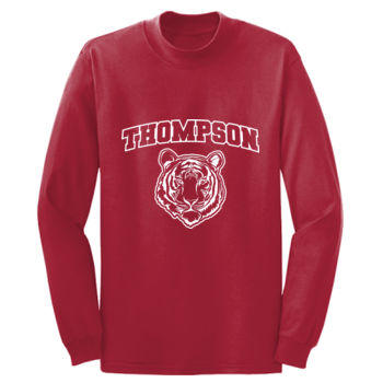 THOMPSON - Adult Long Sleeve Long Sleeve Cotton T Shirt Thumbnail